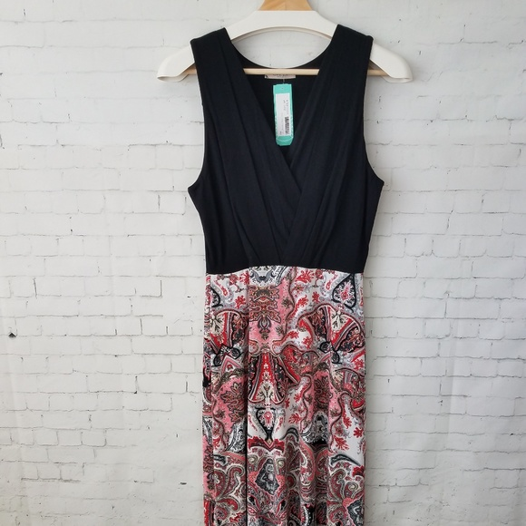 72bb3a5f33c Gilli Stitch Fix Dress Petite Large Maxi Red NWT
